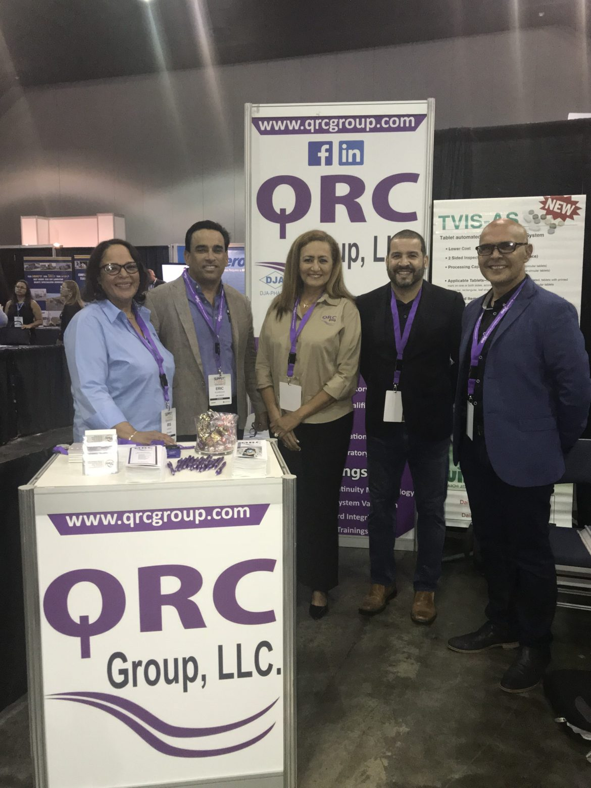 Supply Chain Expo 2018 QRC Group participation
